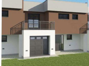 Nová štvrť rodinných domov - všetky rezervované! Voľné len samostatne stojace