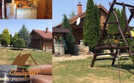 Zrubová chata v obci Bardoňovo,blízko termálneho kúpaliska Podhájska ID 115-13-MIG