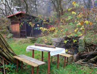 Zvolen, Zlatý Potok – záhrada so záhradnou chatkou – predaj