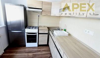 Exkluzívne APEX reality prenájom zariadeného 2i. bytu s loggiou na Hlohovej ul., 52 m2