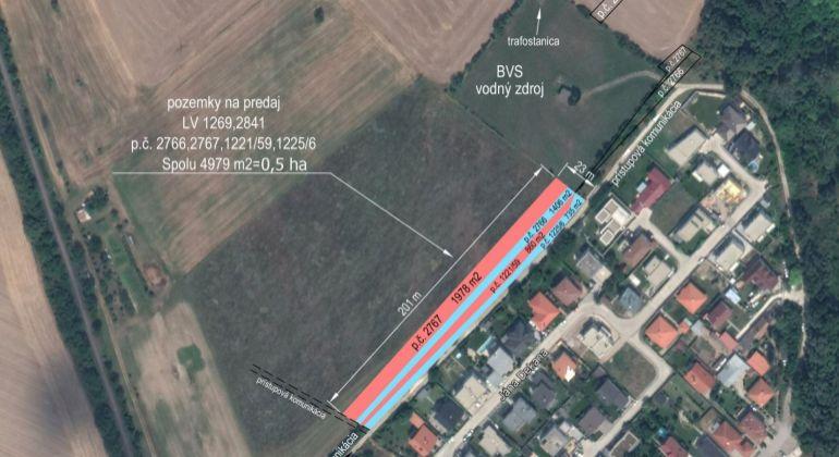Lukratívny pozemok v Bratislave – m.č. Rusovce, VIDEOOBHLIADKA