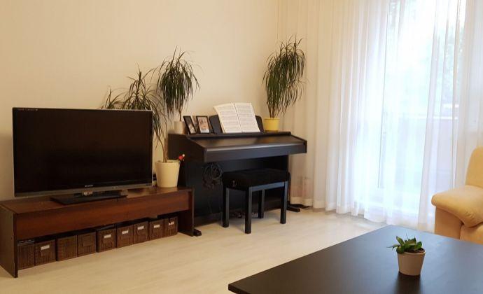 Veľmi príjemný 3-izbový byt s loggiou, parkovacím státím, pivnicou a záhradou, Rovinka, Farebná ul.