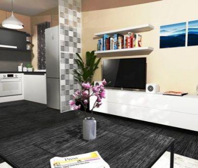 Exkluzívne. Ponúkame na predaj novostavbu 1 izbového bytu na sídlisku Lány.