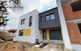 Na predaj 2 x novostavba rodinného domu v radovej zástavbe v Trenčíne, ulica Belá pri OD TESCO.