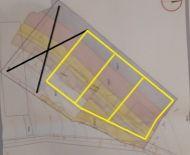 Predaj 3 susediacich pozemkov pre RD v obci Michalková