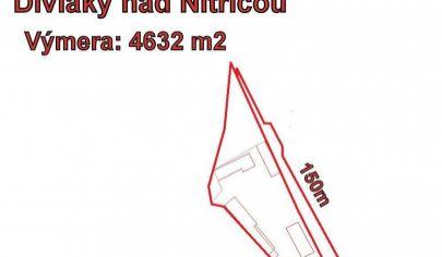 Diviaky nad Nitricou, investičný stavebný pozemok.