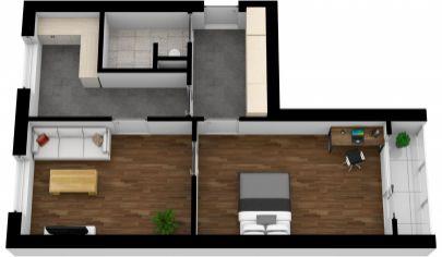 2- izbový byt na predaj Malacky, Štúrova ulica