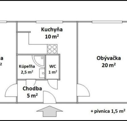 StarBrokers - PREDAJ - 2 izb. byt Petržalka, pôvodný stav