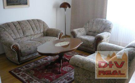 D+V real ponúka: 3 izbový byt, Palackého ulica, Bratislava I, Staré Mesto, zariadený, balkón