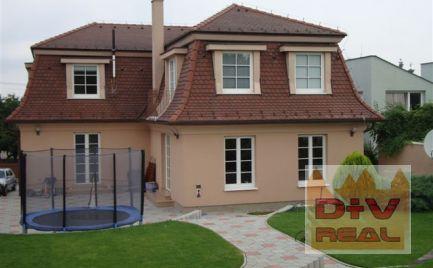 D+V real ponúka na prenájom: 6 izbový rodinný dom, Bratislavská ulica, Bratislava IV, Záhorská Bystrica