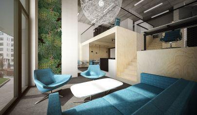 Prenájom krásneho priestoru, dizajnovo navrhnutý architektkou v novostavbe Citypark Ružinov, 118 m2