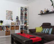 TOP Realitka - REZERVOVANÉ - 3 izbový byt, zariadený,  perfektná dispozícia, loggia, klimatizácia, plynový kotol, tiché prostredie so zeleňou, Top lokalita – CENTRUM - Svätopluková ul.- SENEC