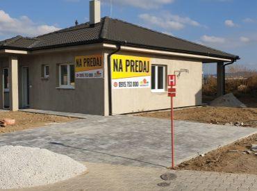 Dokončený rodinný dom v Trenčíne, pozemok 531 m2