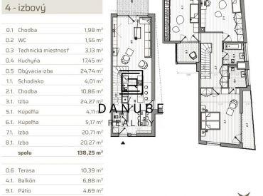 Predaj 4 izbového rodinného domu vo výstavbe v Bratislave-Jarovciach