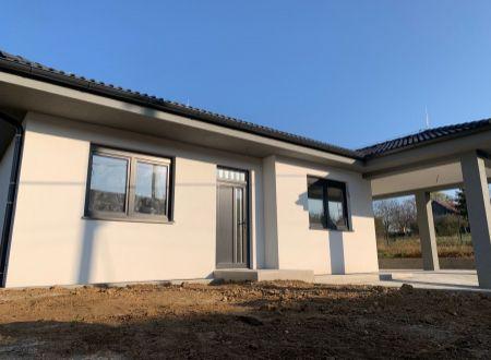 Novostavba rodinný dom Jacovce / VYPLATENA ZALOHA