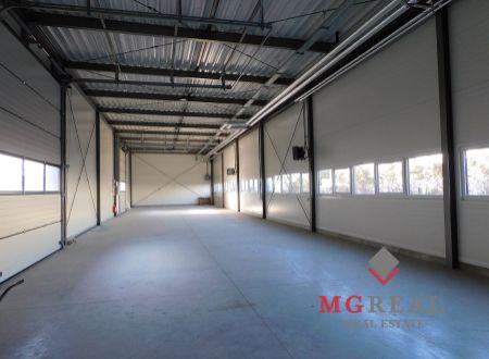 Na prenájom nová 300 m² obchodno-skladová hala v Trnave