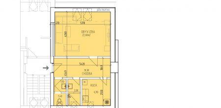 NA PREDAJ - 2 izbový byt v novostavbe na Murgašovej ulici v Dubnici nad Váhom