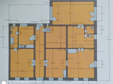 Na predaj 6 iz.rodinný dom, 354 m2, Rajec - centrum
