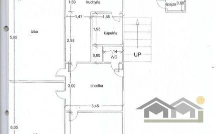 Veľký 3 izbový byt v centre mesta