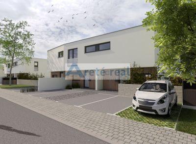 Areté real, Predaj novostavby nízkoenergetického 4-izbového rodinného domu vo výbornej lokalite v centre obce Chorvátsky Grob 1B