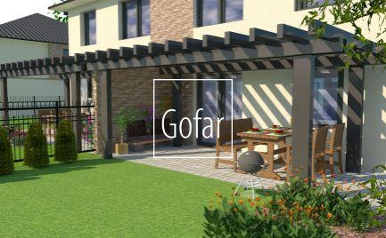 GOFAR - Na predaj rodinný dvojdom (AB) so 4 bytovými jednotkami na 8 árovom pozemku, novostavba Baka
