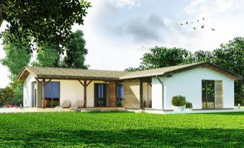 4 izbový bungalov v Pečanoch - len 6 km od Bánoviec.