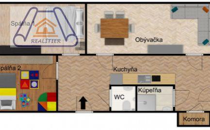 Trojizbový byt v atraktívnom prostredí