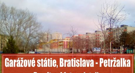 Garážové státie 12 m2 vo výbornej lokalite, Petržalka - Betliarska