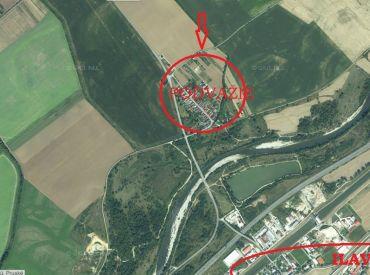 Stavebný pozemok so stavebným povolením, 2 km od Ilavy