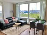 Prenájom 3 izb. moderný byt - vnovostavbe- zariadený- park.státie, pri Volkswagene na Opletalovej ul.