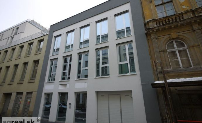 Nadštandardný nebytový priestor 135,5 m2 + záhrada s terasou 66,9 m2 novostavba Kozia