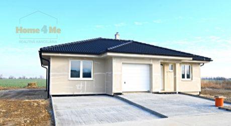 PREDAJ 4 izbového  rodinného domu s garážou, Hamuliakovo