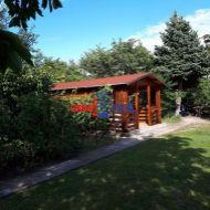 Záhrada, Žabí majer- 583 m2 s celoročnou vodou, elektrina do 400V.