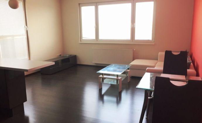 Prenájom: 2-izbový, čiastočne zariadený byt s balkónom, novostavba, BA - Dúbravka