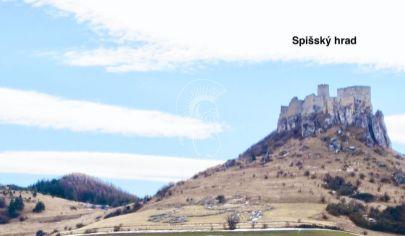 Rezervovaný_Stavebný pozemok s výhľadom na Spišský hrad