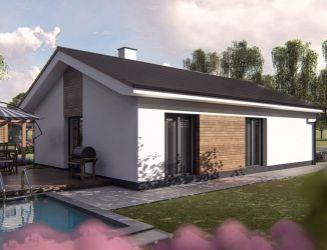 Novostavba 4 izbového bungalovu v Socovciach na predaj, okres Martin, pozemok 829 m2.