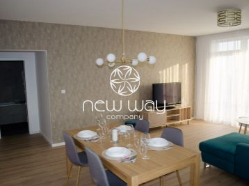 Prenájom BA -Petržalka CITY II., Rusovská cesta, byt s rozlohou 77 m2 , 12 m2 terasa a 2 parkovacie miesta (v garáži domu)
