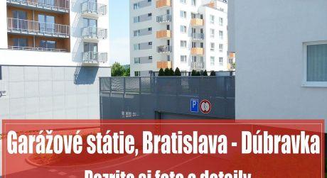 Dve garážové státia 2 x 12 m2 vo výbornej lokalite, Dúbravka - TAMMI 1