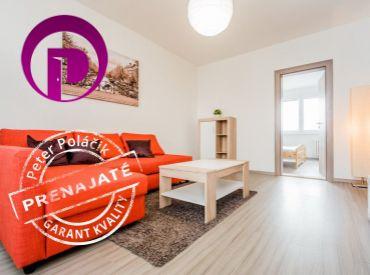 PRENAJATÉ - 3i byt, 65m2 – BA III: nízkopodlažná bytovka, ZREKONŠTRUOVANÝ, ZARIADENÝ, PRIESTRANNÝ, LOGGIA