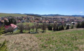 Krásny stavebný pozemok pod Tatrami