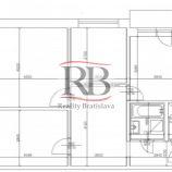Na predaj 3 izbový byt na Smolenickej ulici v Petržalke