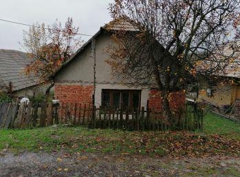 Menší rodinný dom - chalupa Seľany, okr. V. Krtíš