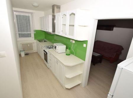 2izbový zariadený byt na prenájom, Piešťany, Teplická, 46,5m2