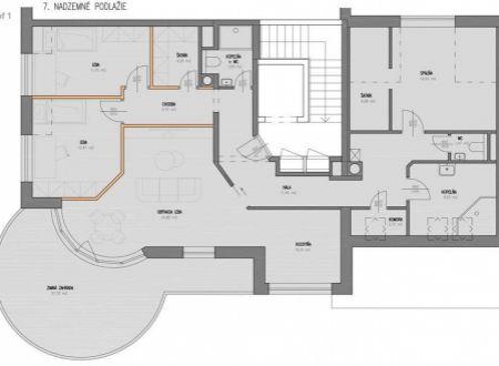 Jedinečný byt s terasou, výhľadom, súkromím a parkovaním, J. Kronera, Staré Mesto
