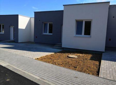 Novostavba - Radový rodinný dom Solčany