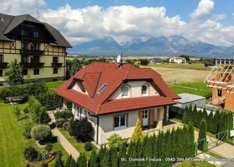 DELTA - Nádherný rodinný dom na predaj Veľká Lomnica