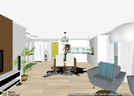DELTA - Útulný 3-izbový byt s predzáhradkou na predaj v novostavbe Novoveská Huta