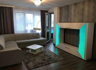 Zariadený 3-izbový byt s loggiou v blízkosti OC RETRO