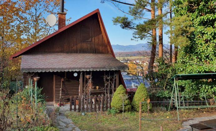 Stavebný pozemok a záhradná chata Veľká Lehôtka, 52,5 m², pozemok 547 m², Vrchárska, Prievidza