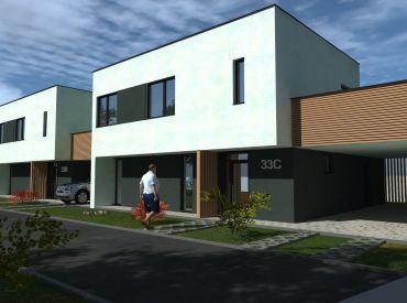 Nové bývanie v IBV Čerešne - 4-izb. RD Žilina-Považský Chlmec, cena od 169.000 €